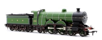 GNR Atlantic Class C1 GNR Lined Green 4-4-2 Steam Locomotive No.272